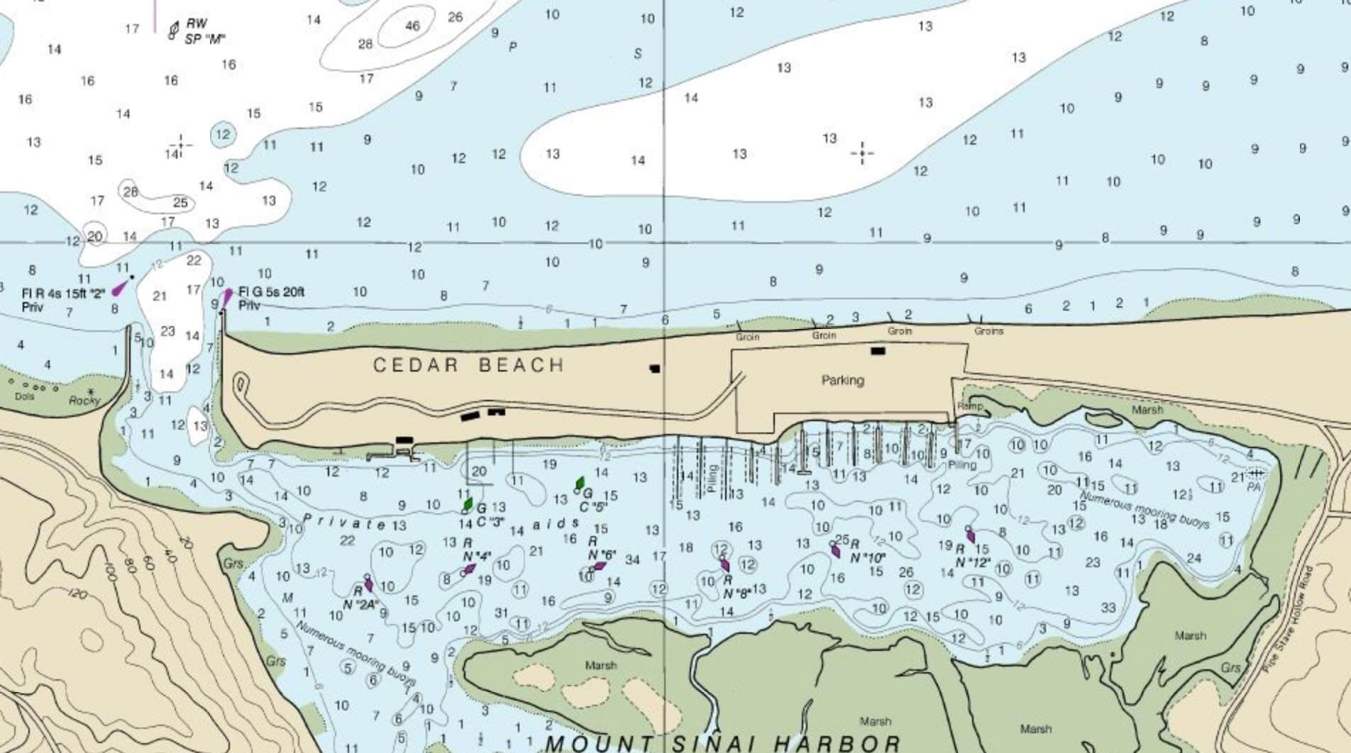 Harbor Chart